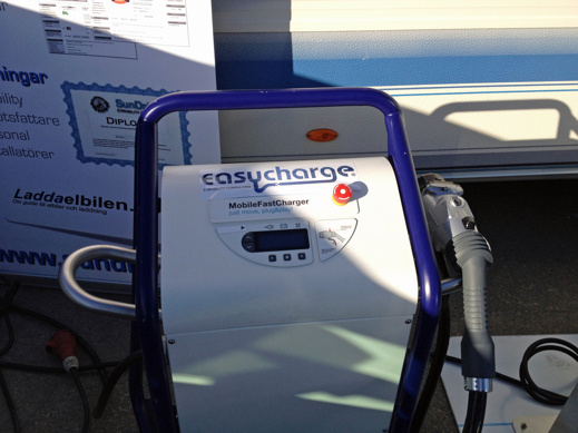 EasyCharge snabbladdare