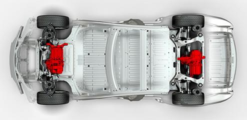 Tesla Dual Motor All Wheel Drive