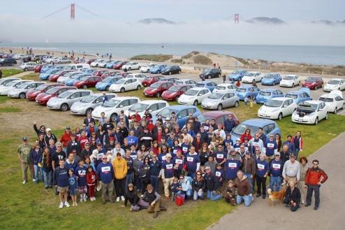 Bild från San Fransisco under förra årets firande