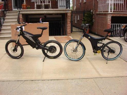 Det kostar 1000$ i böter att ertappas av polisen körande elcykel i New York