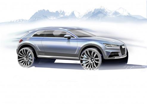 Ny Audi Crossver e-tron