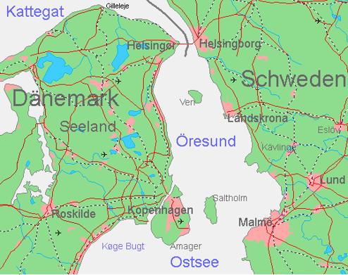 Öresundreginonen skulle kunna vara norra Europas elbiltätaste region