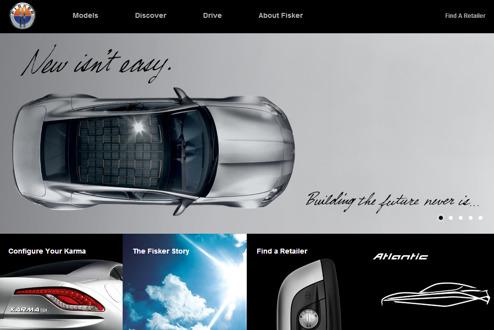 Fiskers webbsida är fortfarande online