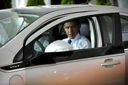 Obama testkör en Volt