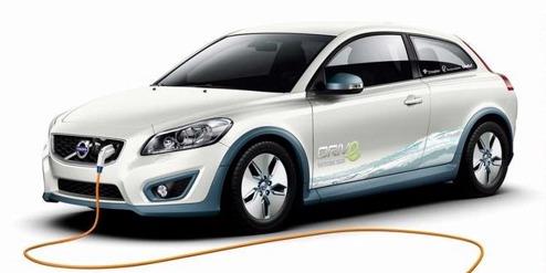 Den rena elbilen Volvo C30 electric