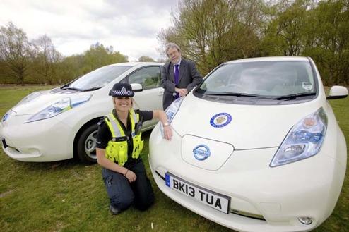 När köper svenska polisen in elbilar? Foto: Recumbo.com