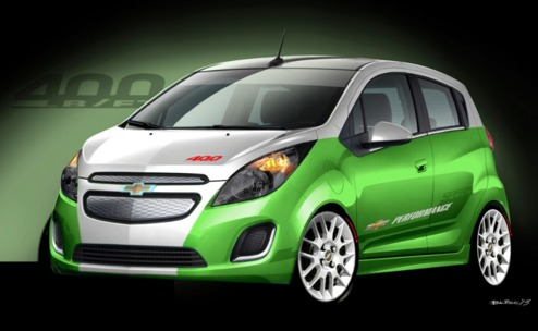Chevrolet Spark EV Tech Performance