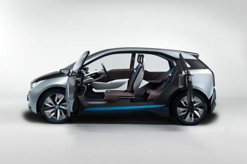 Årets Bil 2014? På bilden BMW i3