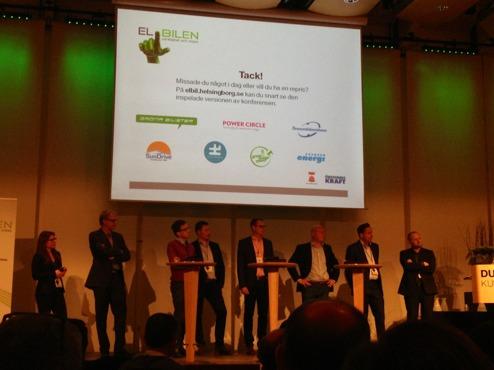 Avlsutande frågestund Elbilen verklighet & vision i Helsingborg
