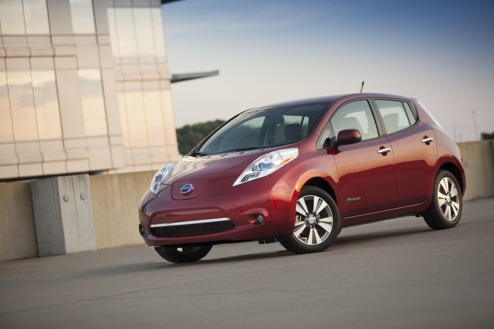 Nissan har levererat LEAF Nr 100 000