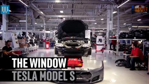 Hur en Model S blir till
