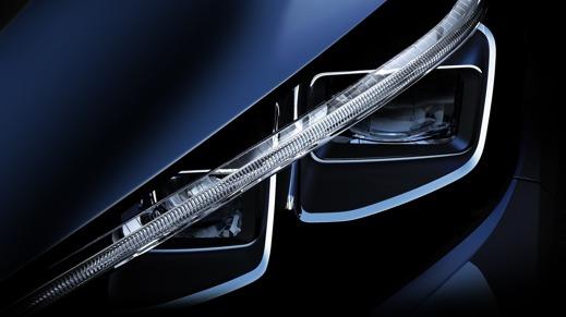 En del av Nissan LEAFS nya nylle