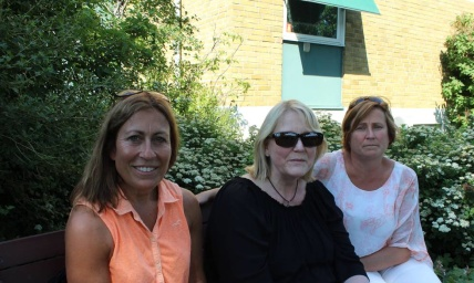 Catarina Hagstrand, Ulrica Lundman och Rosmari Alverland från Lomma ridklubb är frustrerade över det sega samarbetet med kommunen. Bild: Johanna M Karlsson