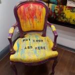 arm chair stylad, finns i fler färger