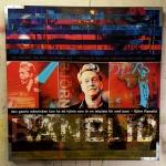 Ranelid 100x100 cm mixed media:akryl