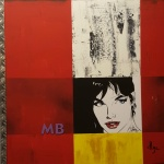Modesty Blaise 60x60 cm