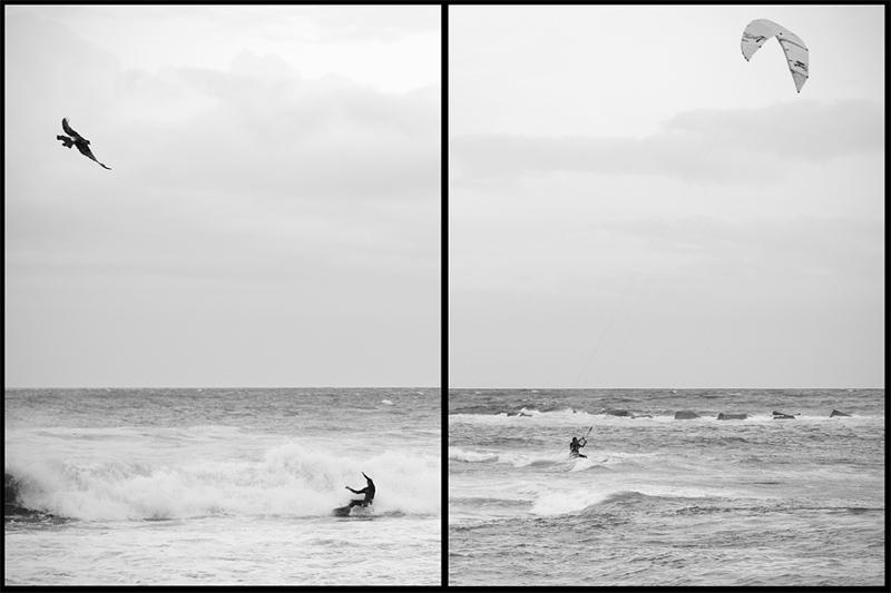 Den bästa säsongen för surfing i Barcelona har precis börjat med höststormarna och fortsätter ofta till mars.  -Jag surfar för att det är kul och gillar att utmana naturen, säger Antonio. Nästan som en matador men i vattnet, skämtar han vidare.