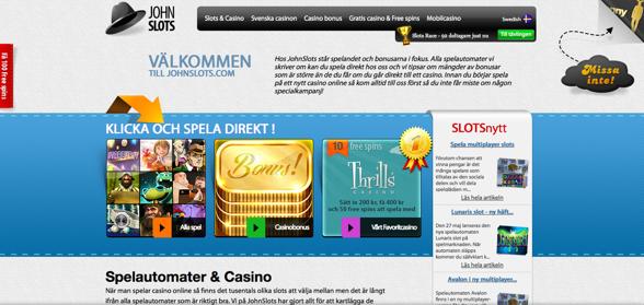 Exempel på en kasino affiliate sajt!