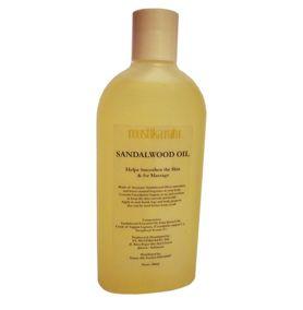 Massage oil minyak cendana, (sandalwood oil) 250ml