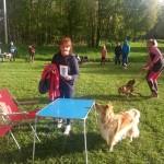 Tävlingsklass Lena och Foxie