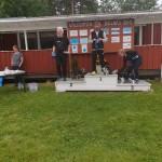 20190707 Bollnäs S Hopp 1A - Första plats Janne och Boogie - Tredje plats Lisa och Iris