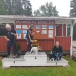20190707 Bollnäs S Hopp 1B - Tredje plats Lisa och Iris
