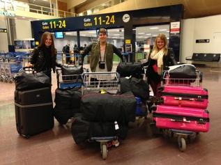 5 månader sen på Arlanda, på väg till Bodrum