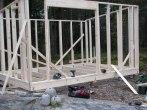 Btggnation av gäststuga - friggebod i Karlstad