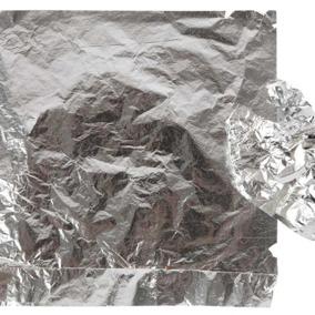 Metallblad Silver - Bladmetall silver