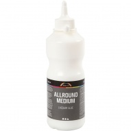 Allround medium lim/lack, 500ml.