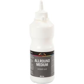 Allround medium lim/lack, 500ml. - Allround lim/lack