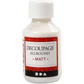Decoupage lim/lack - Decoupage lim 100ml