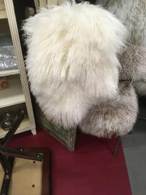 Kuddfodral lammskinn helvitt - Kuddfodral lammskinn helvitt