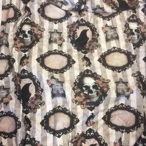 Van Asch Victorian Gothic Fabric - Victoria Gothic Fabric