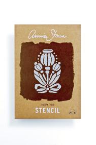 Annie Sloans schablon