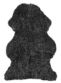Curly Rug Dark Grey - Curly Rug Dark Grey