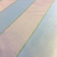 Tyg Grå/Silver randigt 50% 280cm bredd