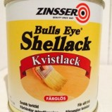 Zinsser,kvistlack, shellack.