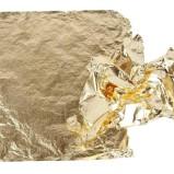 Metallblad Guld