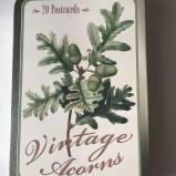 Ask med Vykort, Vintage acorns