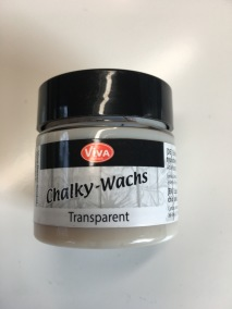 Chalky wax