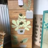 möbel Ekbyrå med blommor