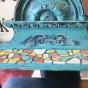 möbel Hylla med mosaik