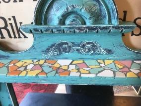 möbel Hylla med mosaik -