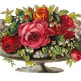 Bild Grafiskt bild blomma urna