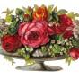 Bild Grafiskt bild blomma urna - Bild Grafisk bild blomma urna1