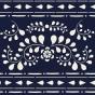 Annie Sloan Faux-Bone-Inlay-Stencil