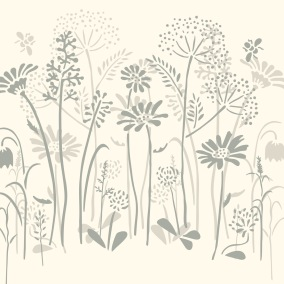 Schablon Meadow-Flowers-Stencil -