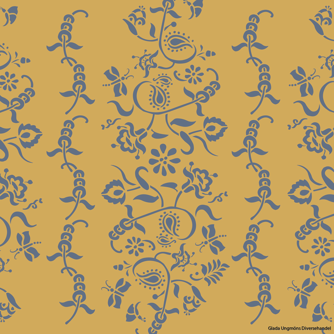 Paisley-Floral-Garland-Mustard-Mix-and-Old-Violet-1