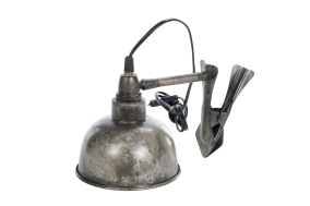 Lampa Clip i metall -